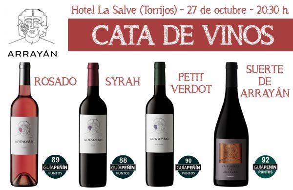 Cata de vinos Arrayán