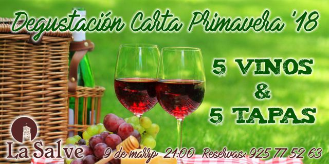 cata_vino_primavera_hotel_la_salve_torrijos