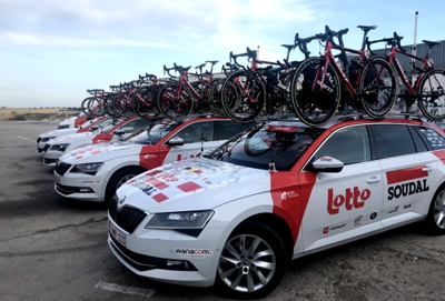 Lotto Soudal en La Salve